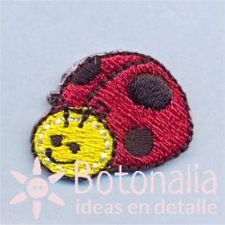Ladybug smiling