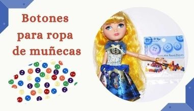 Botones Muñecas